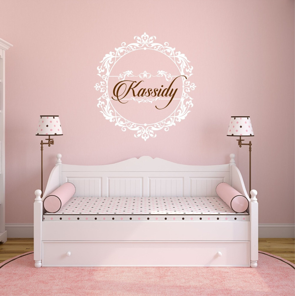 Wall Decals For Girl Bedroom  Princess Wall Decal Girls Bedroom Perfect Quality Vinyl