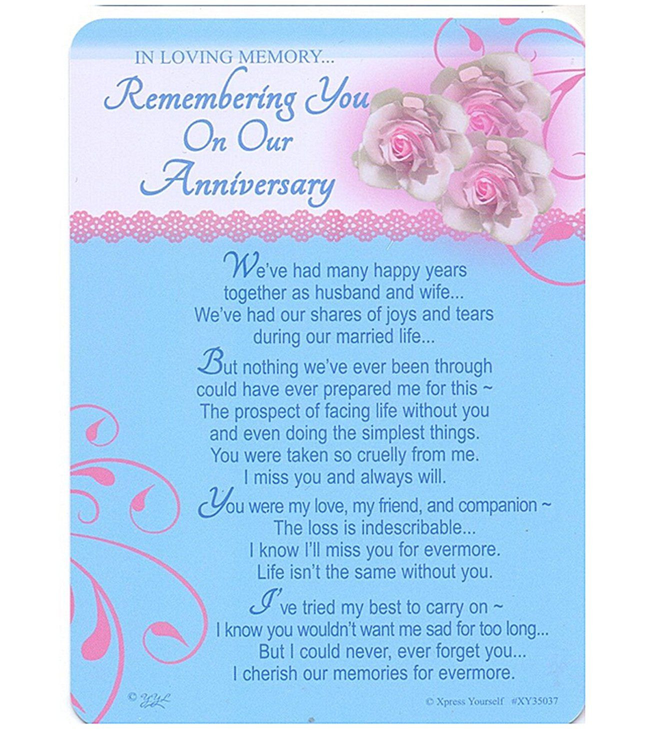 Wedding Anniversary After Death Of Spouse Quotes  Pin by Jsymonds on True