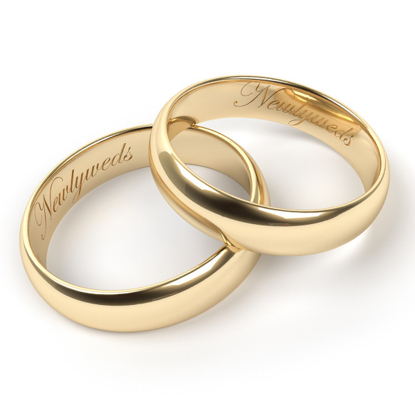 Wedding Band Engravings  Engraving Ideas for Wedding Band Sets – My Trio Rings