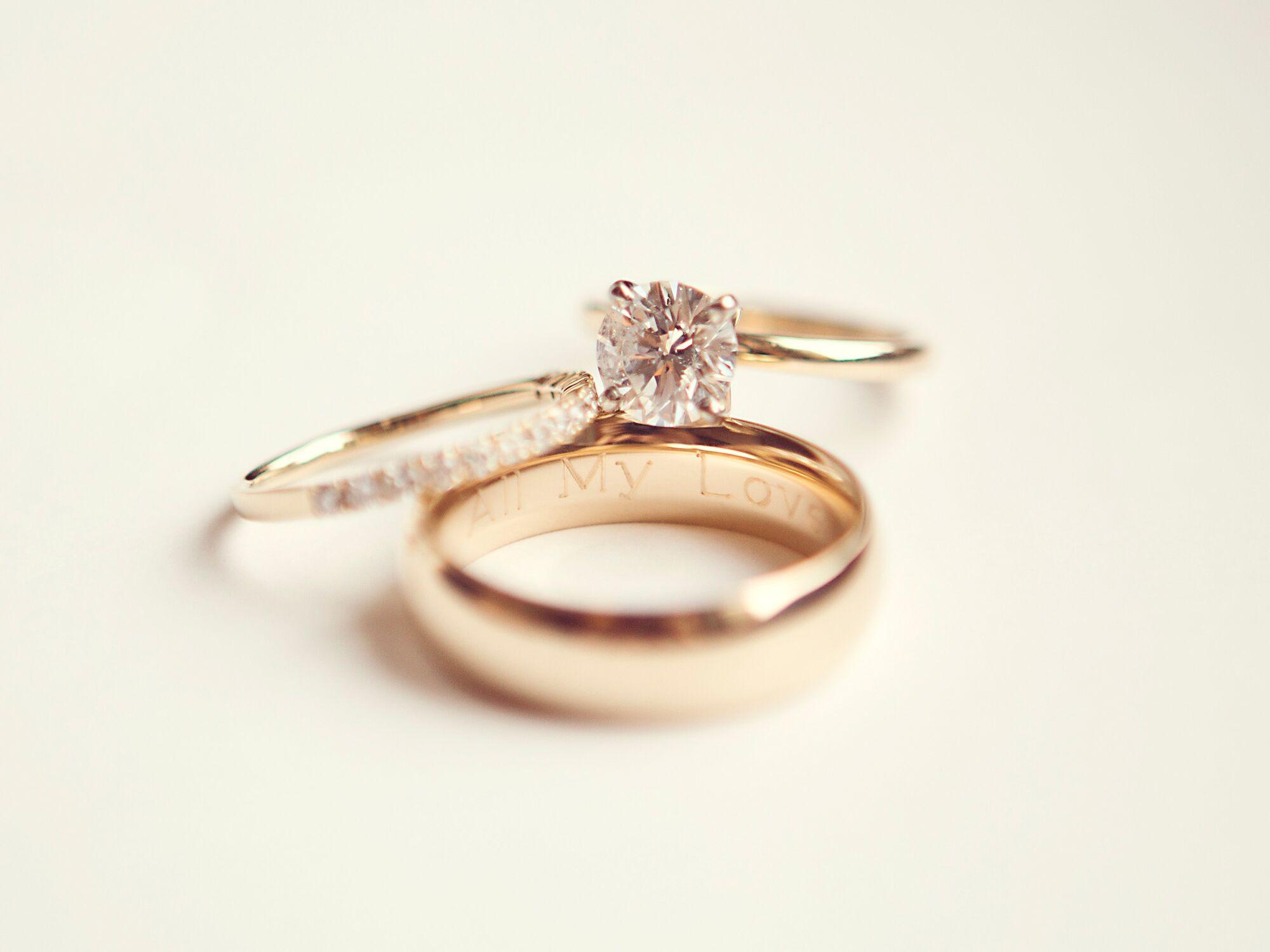 Wedding Band Engravings  Wedding Ring Engraving Ideas & Tips