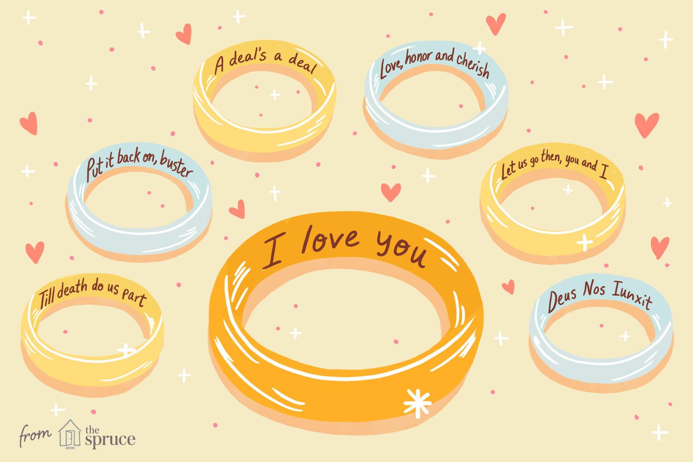 Wedding Band Engravings  Wedding Ring Engraving Ideas