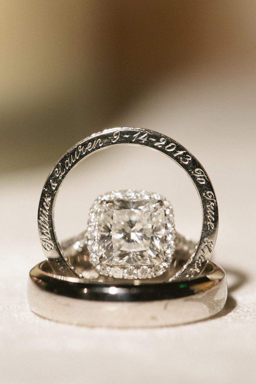 Wedding Band Engravings  Engraved Wedding Ring Elizabeth Anne Designs The