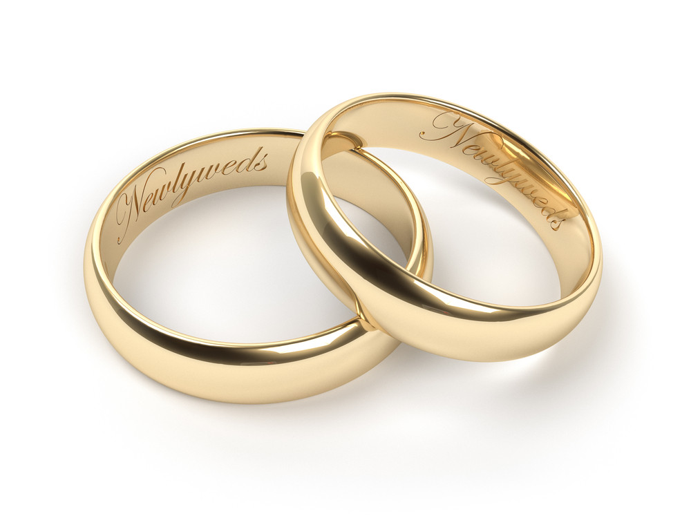 Wedding Band Engravings  Words of Love Ideas and Tips on Buying Engraved Wedding Bands