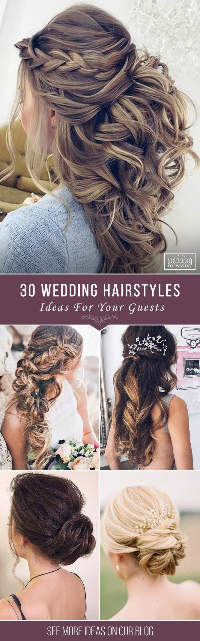Wedding Guest Hairstyles DIY  Wedding Guest Hairstyles 42 The Most Beautiful Ideas