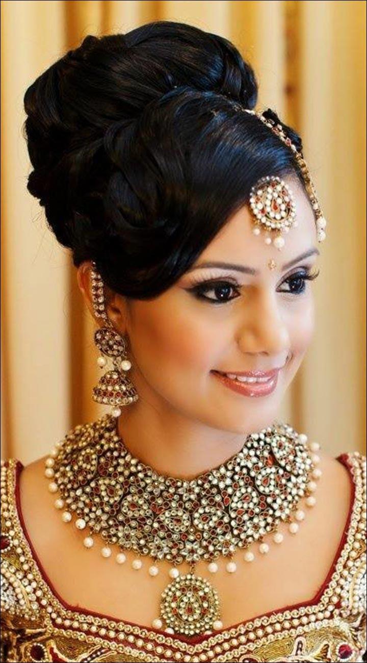Wedding Hairstyles Brides  Hindu Bridal Hairstyles 14 Safe Hairdos For The Modern