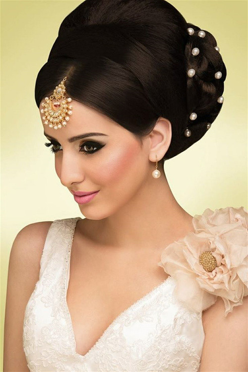 Wedding Hairstyles Brides  Hairstyles For Indian Wedding – 20 Showy Bridal Hairstyles