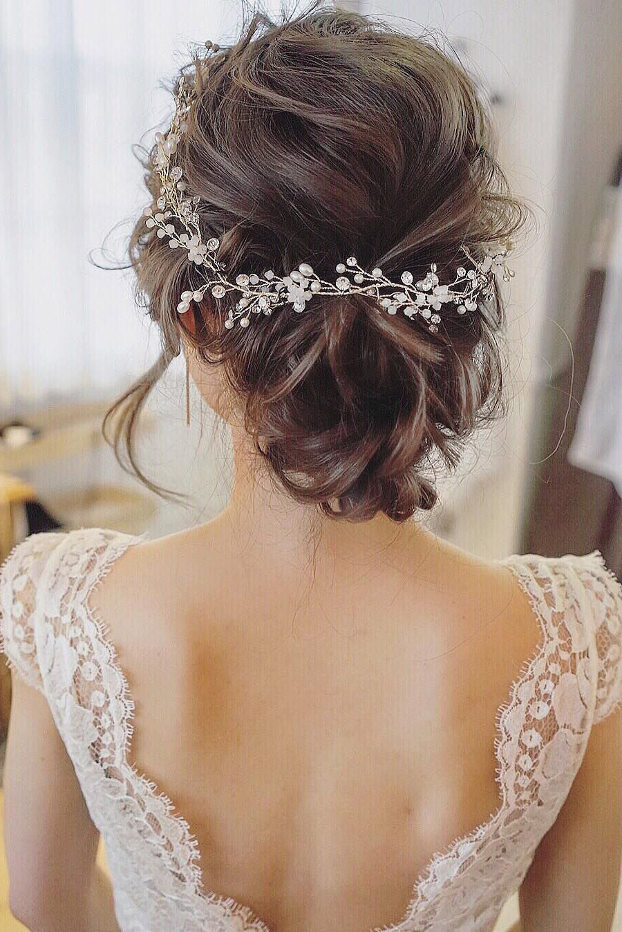 Wedding Hairstyles Brides  25 Chic Updo Wedding Hairstyles for All Brides