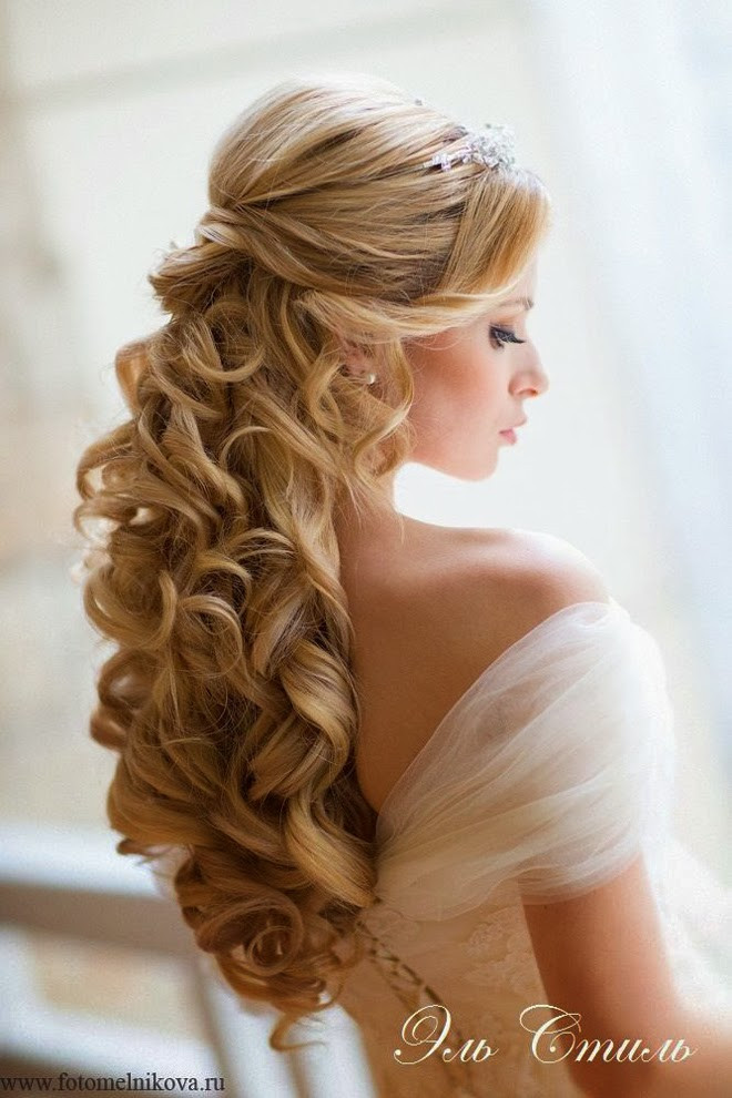 Wedding Hairstyles Brides  Luxurious Wedding Hairstyles