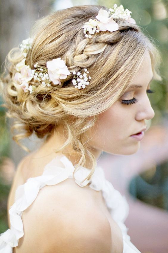 Wedding Hairstyles Brides  Braided Crowns Hairstyles For the Summer Bride Arabia