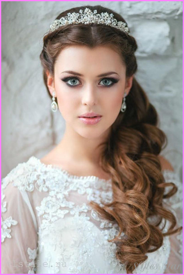 Wedding Hairstyles Round Face  Bridal Hairstyles For Round Faces Star Styles