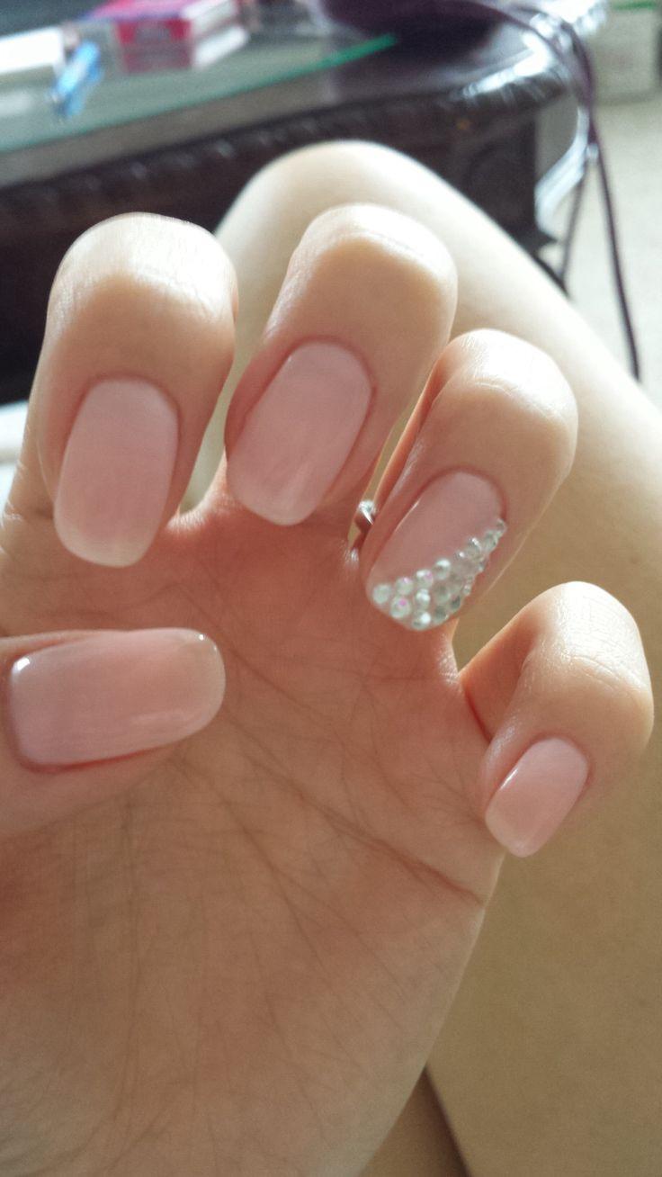 Wedding Nails Gel  Best 25 Wedding gel nails ideas on Pinterest
