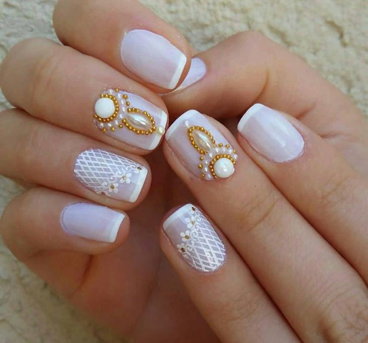 Wedding Nails Gel  43 Gel Nail Designs Ideas