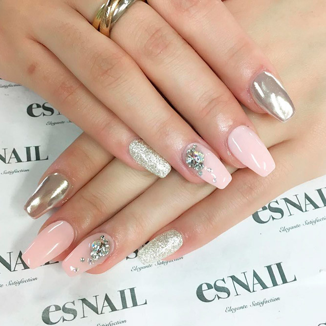 Wedding Nails Gel  Best Wedding Nails Ideas for 2018 All For Fashions