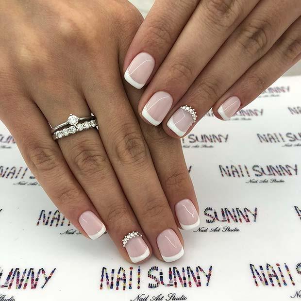 Wedding Nails Gel  13 Cute Nail Designs for Brides to Be crazyforus