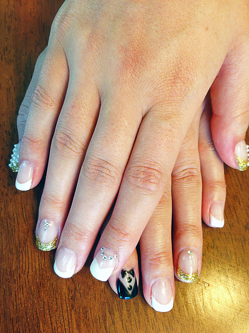 Wedding Nails Gel  Hard Gel Chic Nail Styles