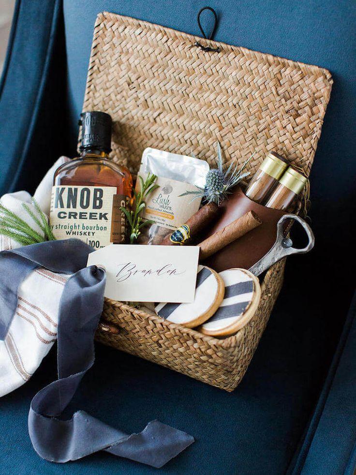 Welcome Gift Basket Ideas  9 cestas de regalo DIY