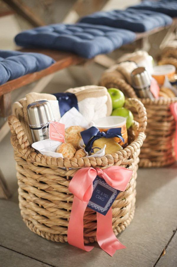 Welcome Gift Basket Ideas  35 Creative DIY Gift Basket Ideas for This Holiday Hative
