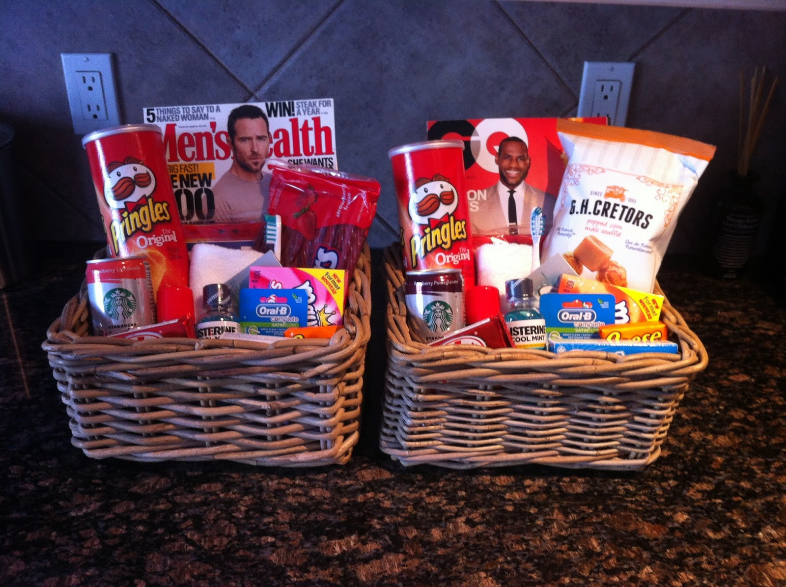 Welcome Gift Basket Ideas  Life Happens House Guest Wel e Basket