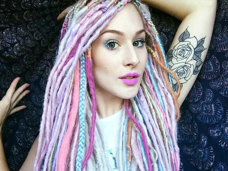 White Girl Dread Hairstyles  15 Amazing Ideas White Girl Dreadlock Hairstyles