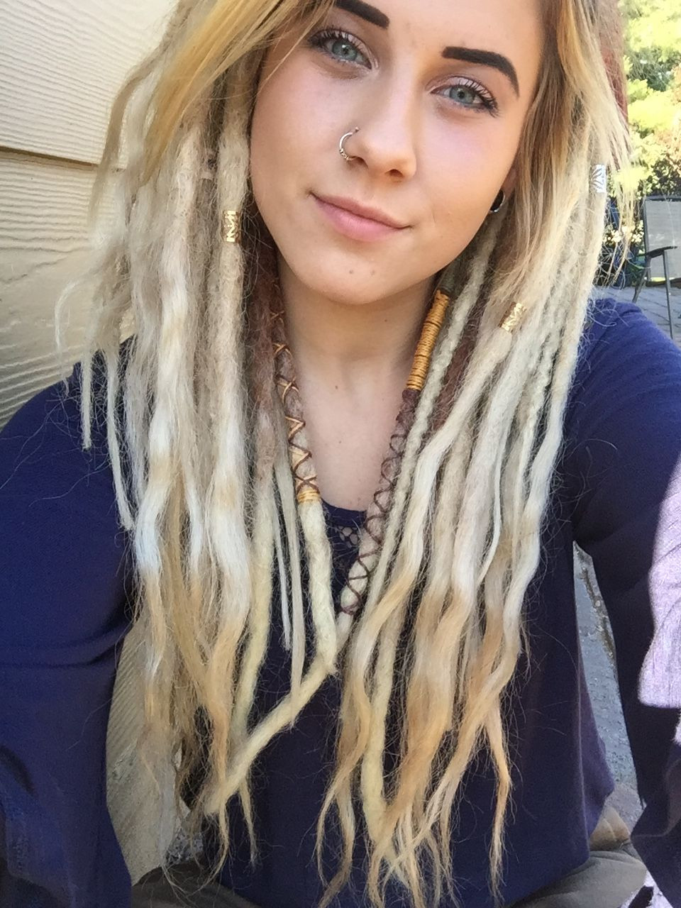 White Girl Dread Hairstyles  Happy dreads