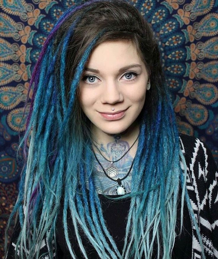 White Girl Dread Hairstyles  948 best White women with dreads images on Pinterest