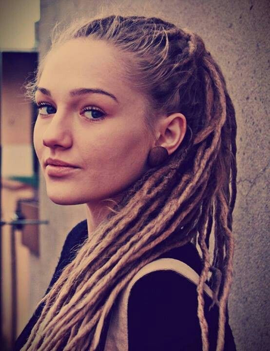 White Girl Dread Hairstyles  Dreads Styles for White Girls