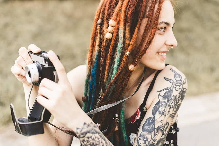 White Girl Dread Hairstyles  20 Dreadlock Hairstyles for White Girls to Pull f