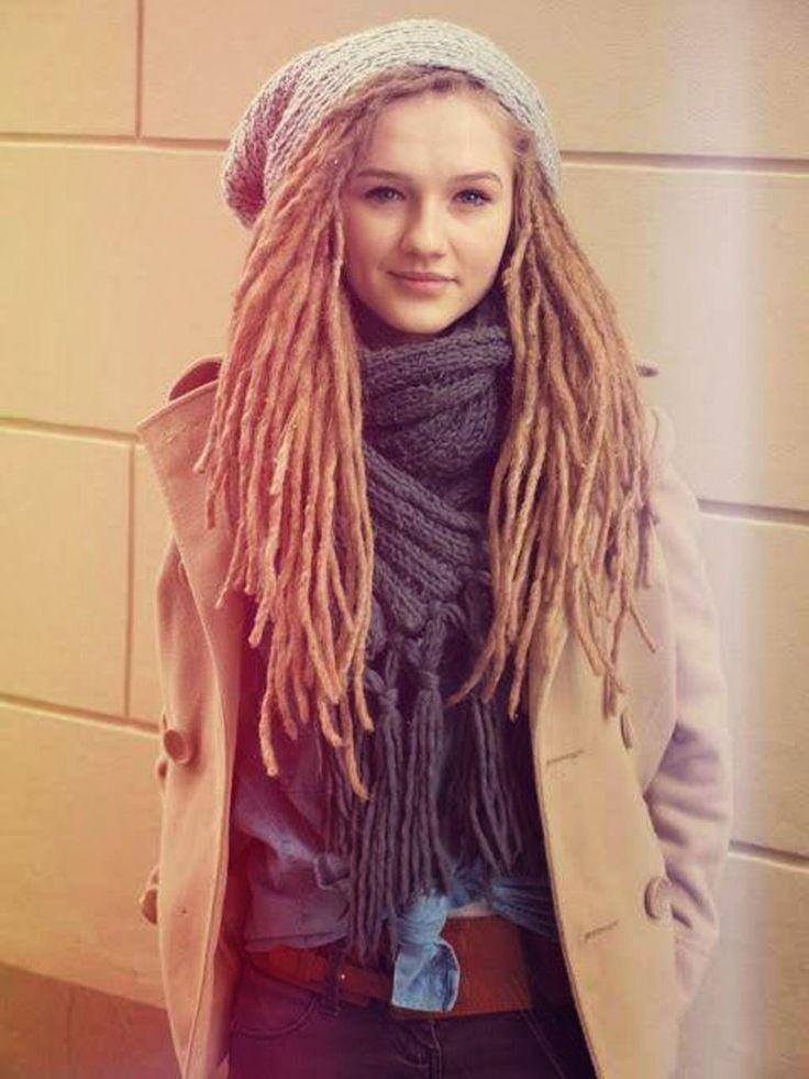 White Girl Dread Hairstyles  Best 25 White girl dreads ideas on Pinterest