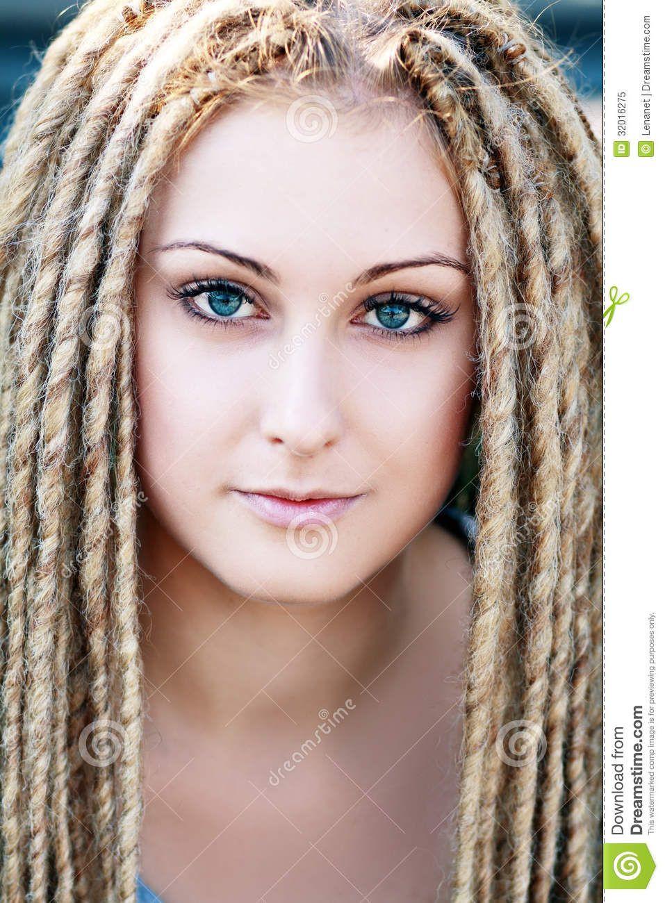 White Girl Dread Hairstyles  white girl dreads Google Search Dreadlocks