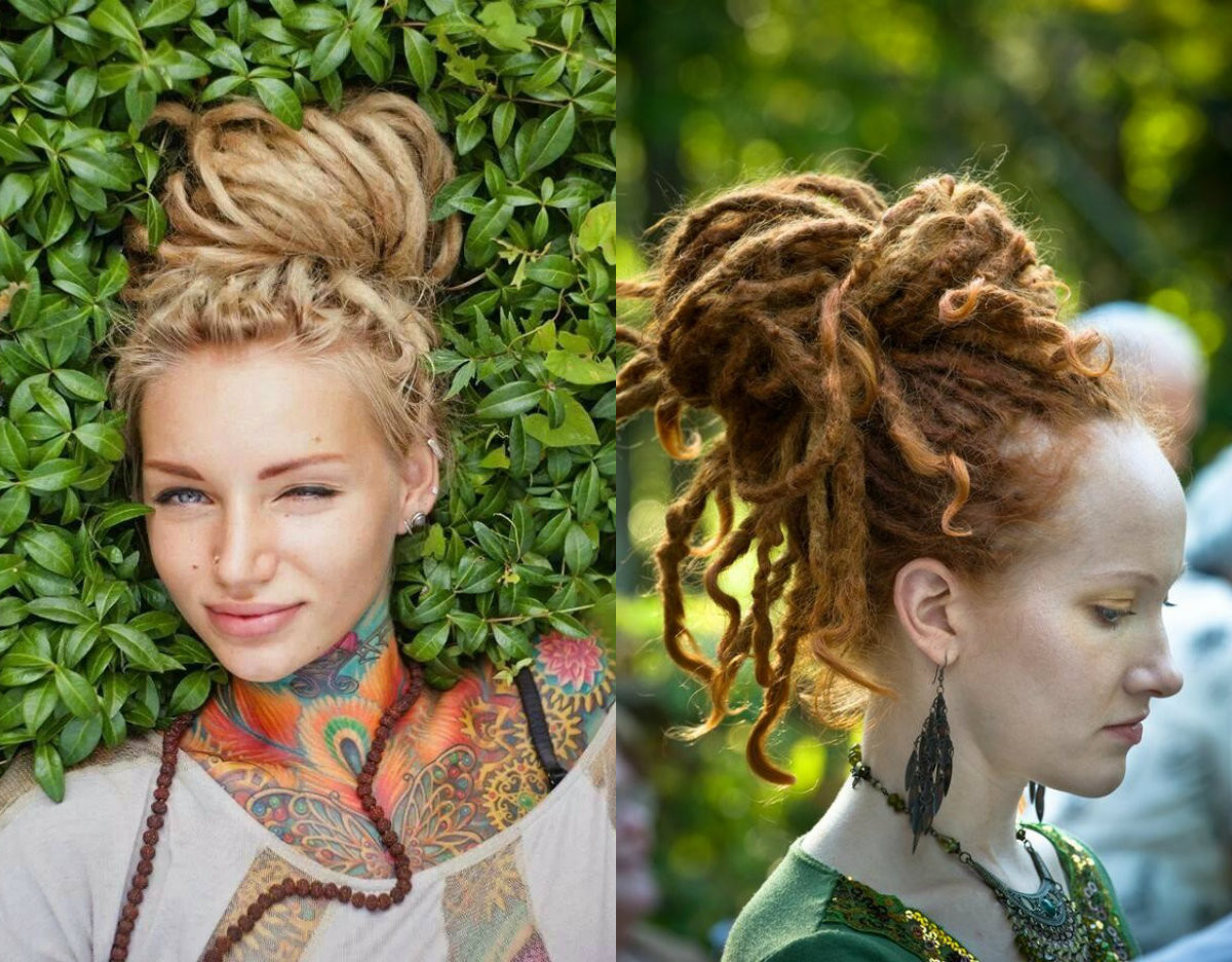 White Girl Dread Hairstyles  Female Dreads Hairstyles For The Most Daring es