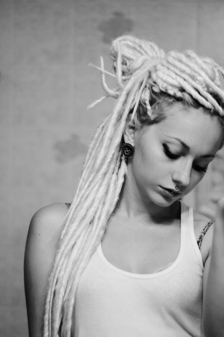 White Girl Dread Hairstyles  White Dreads Hairstyles For White Women