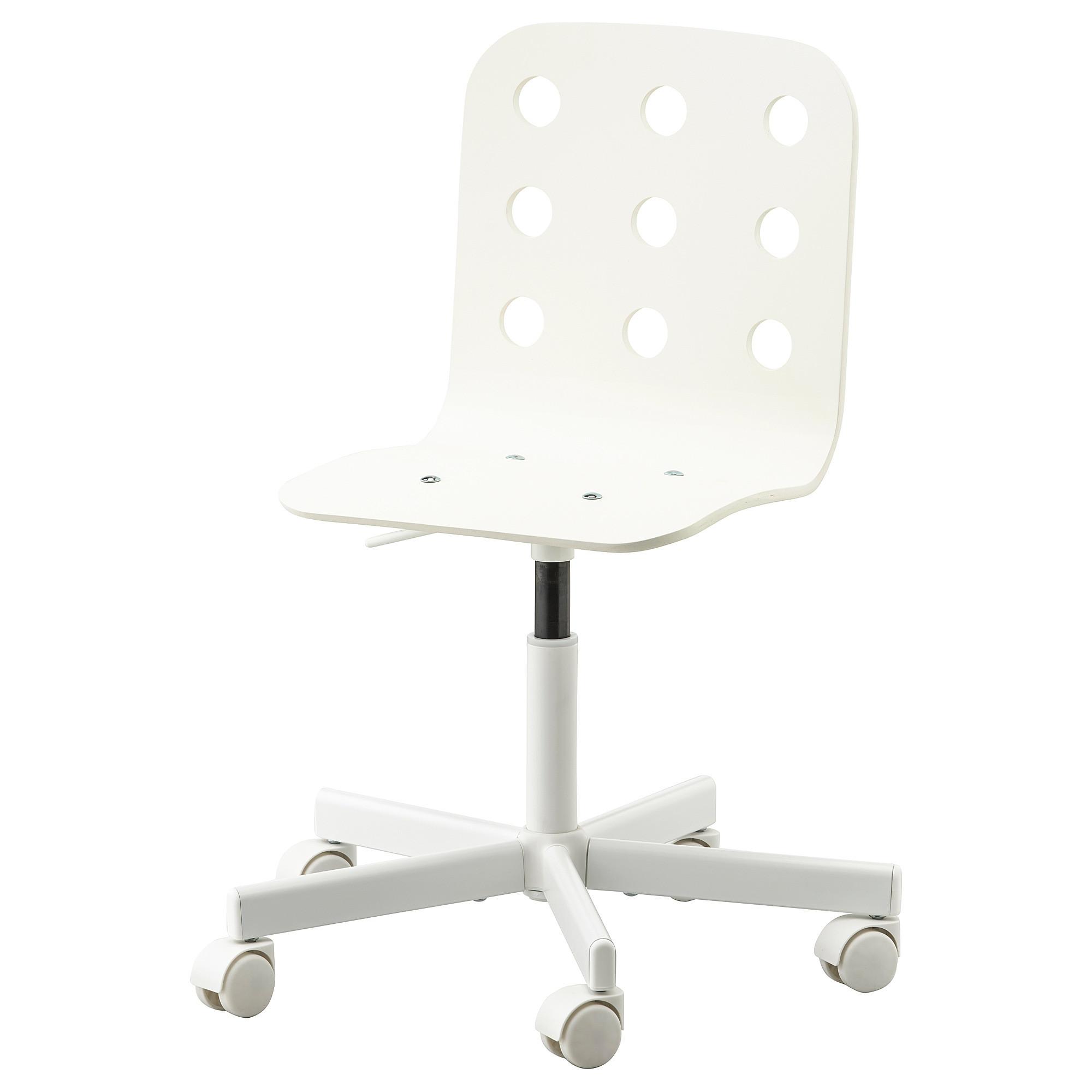 White Kids Chair  JULES Child s desk chair white IKEA