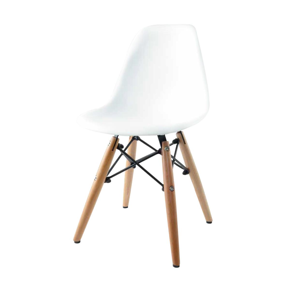 White Kids Chair  Bucket Chair White