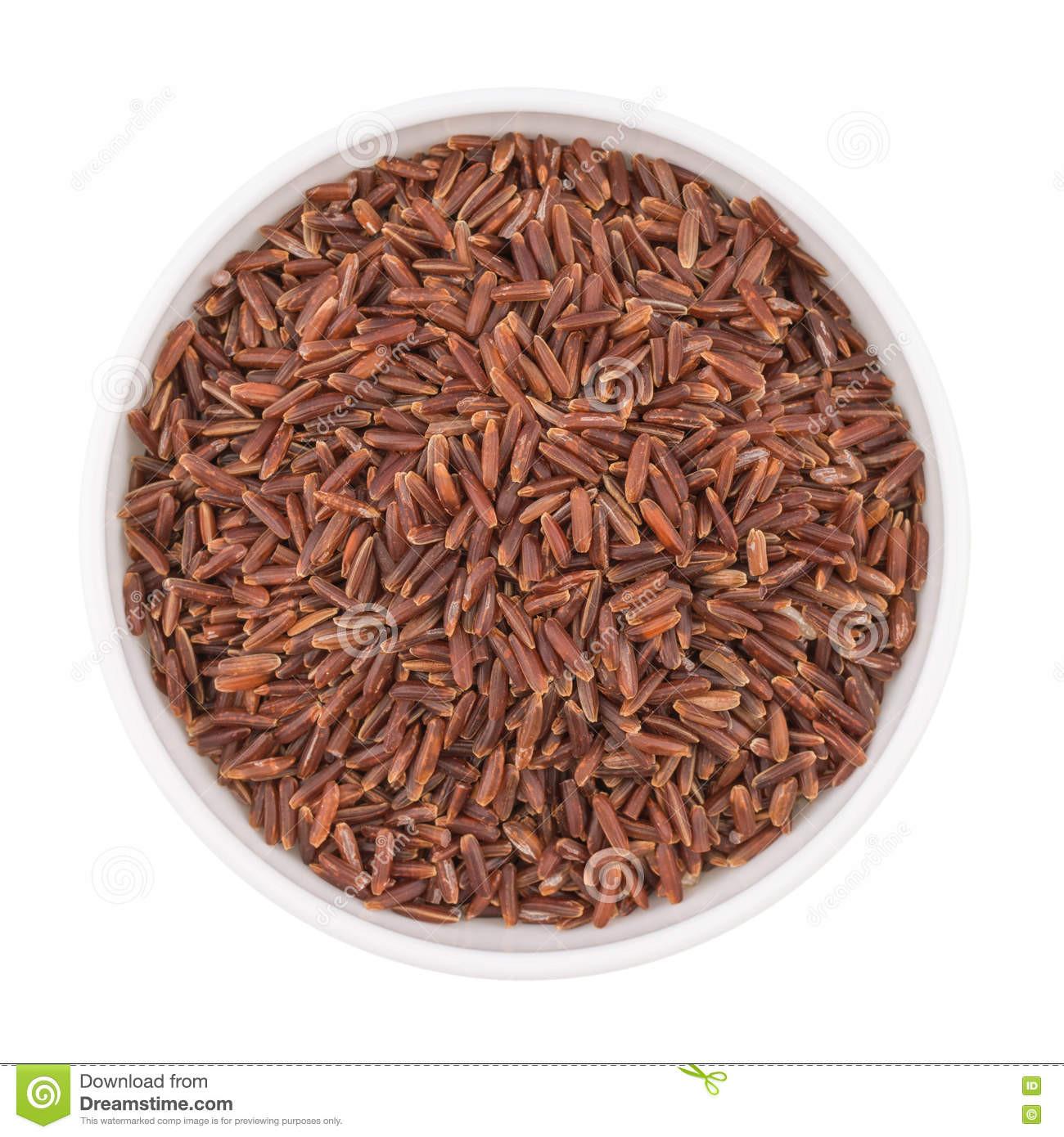 Whole Grain Brown Rice  Whole Grain Organic Brown Rice In A Bowl Stock