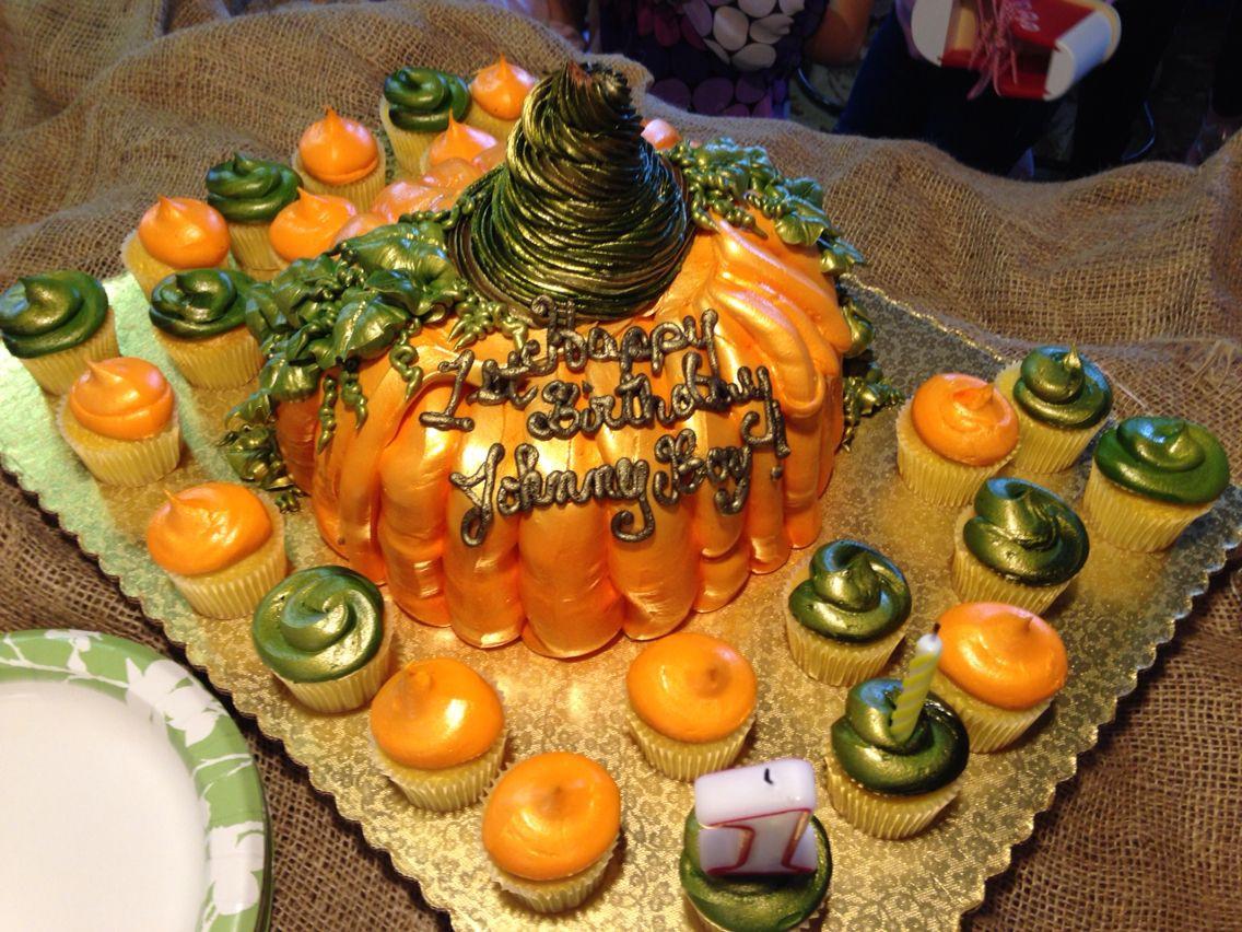 Winn Dixie Birthday Cakes  Pumpkin cake from Winn Dixie