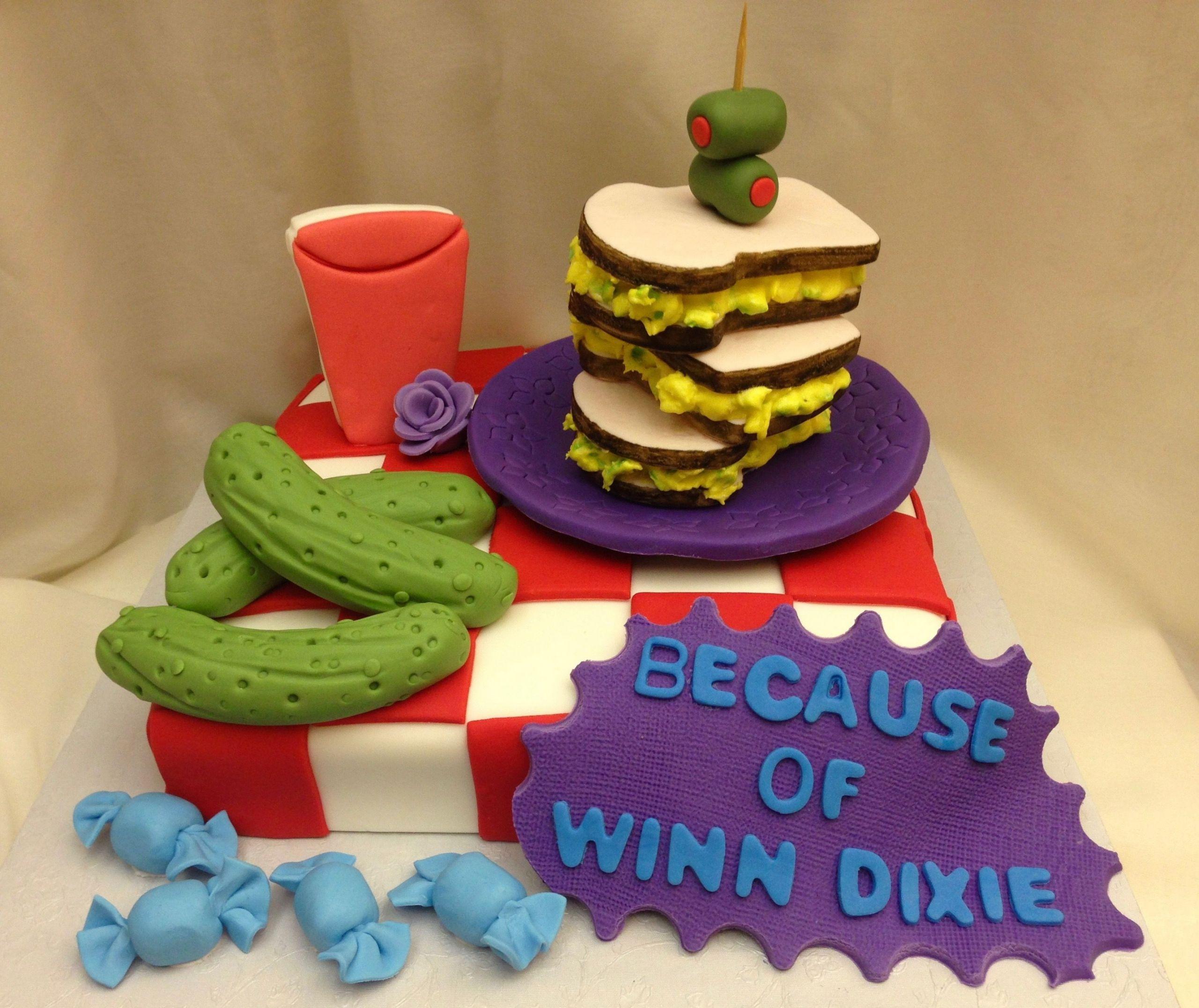 Winn Dixie Birthday Cakes  Because of Winn Dixie cake