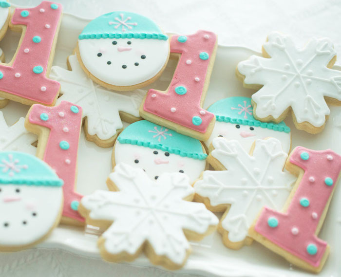 Winter Birthday Party Ideas For 1 Year Old  Kara s Party Ideas Winter ONEderland Themed 1st Birthday