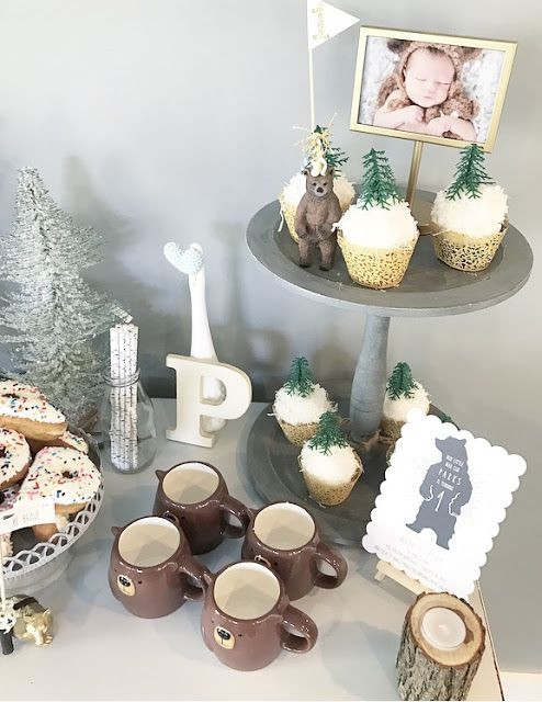 Winter Birthday Party Ideas For 1 Year Old  Pin on olive june