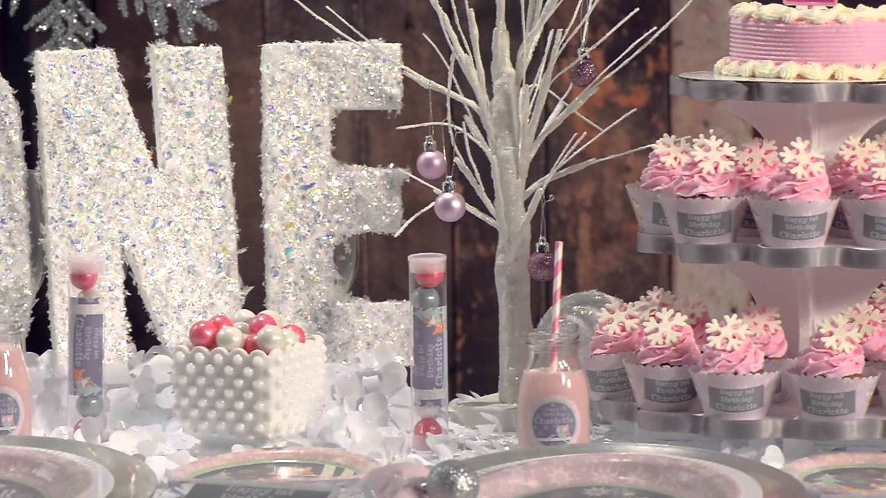 Winter Birthday Party Ideas For 1 Year Old  Girl Birthday Party