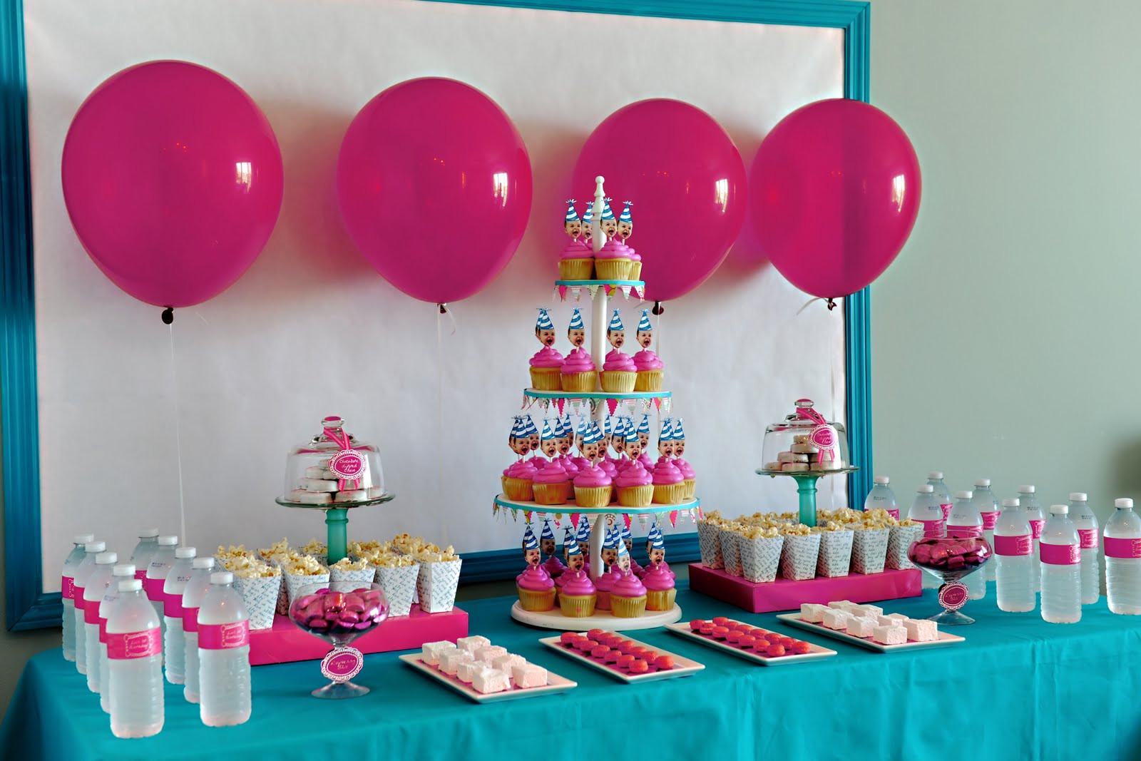 Winter Birthday Party Ideas For 1 Year Old  Elle Belle Creative e Year Old in a Flash The Dessert