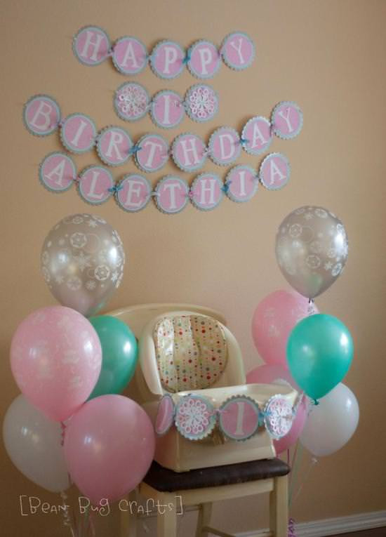 """Winter Birthday Party Ideas For 1 Year Old  Winter """" e"""" Derland Party Ideas For a e Year Old"""