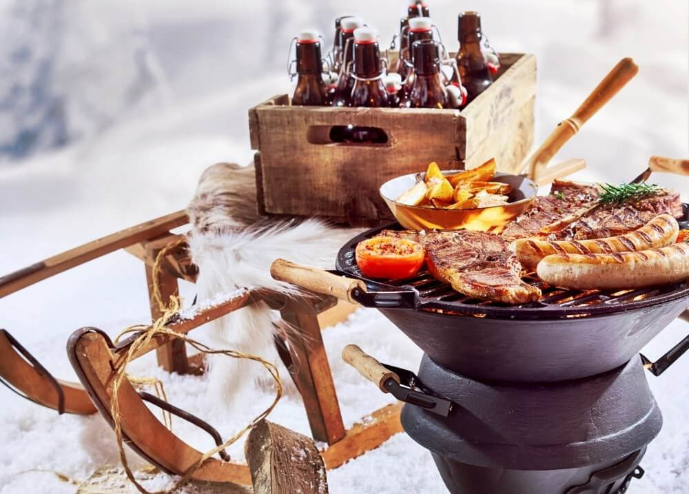 Winter Camping Food  34 Winter Camping Tips Snuggling Tricks to Survive the Cold