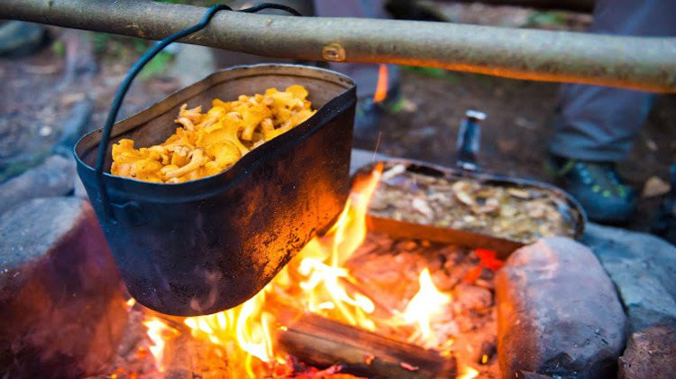 Winter Camping Food  Winter Campfire Cooking Ideas