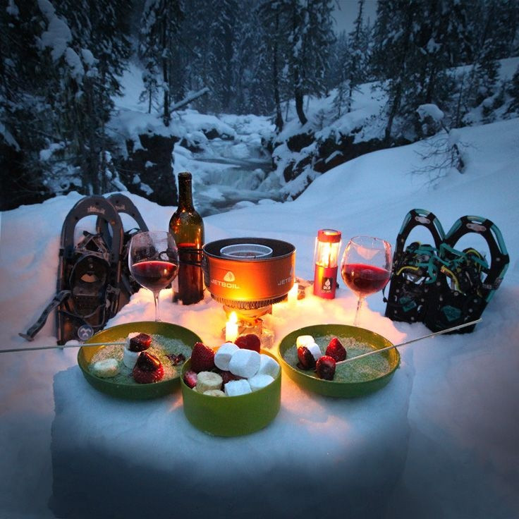 Winter Camping Food  Outdoor Winter Party Ideas for your Backyard It s a
