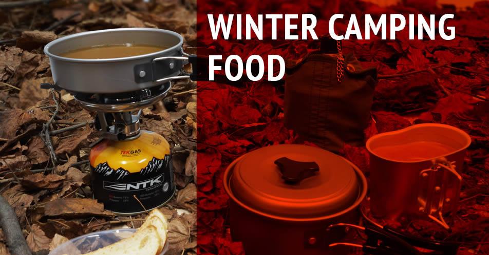 Winter Camping Food  Winter camping food