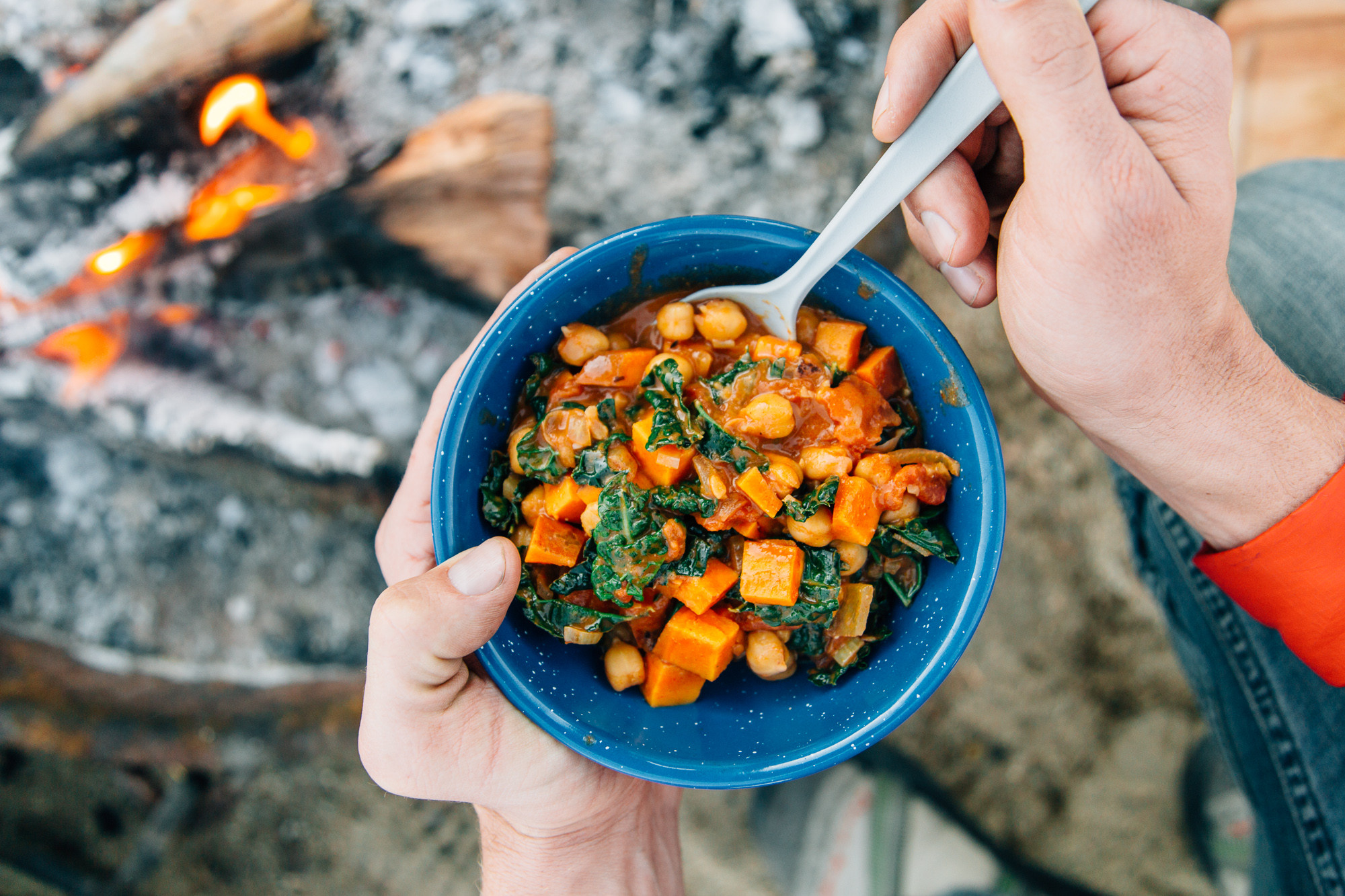 Winter Camping Food  Cozy Up with These 4 Winter Camping Recipes Therm a Rest