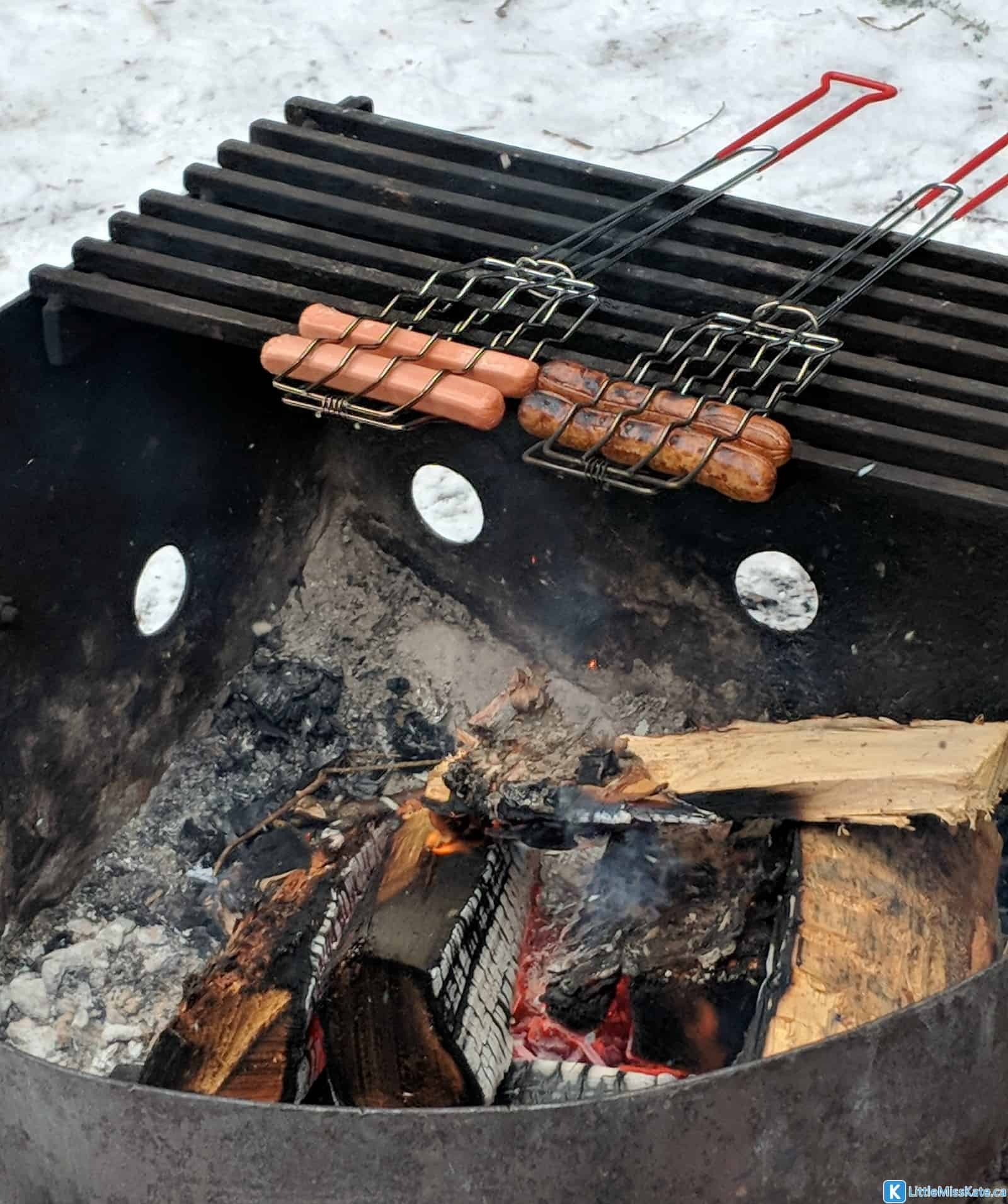 Winter Camping Food  Winter Camping in tario with Kids – MacGregor Point