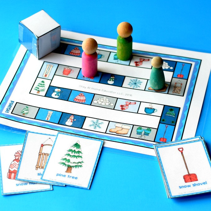 Winter Themed Activities For Preschoolers  Winter Theme Preschool Lesson Plans
