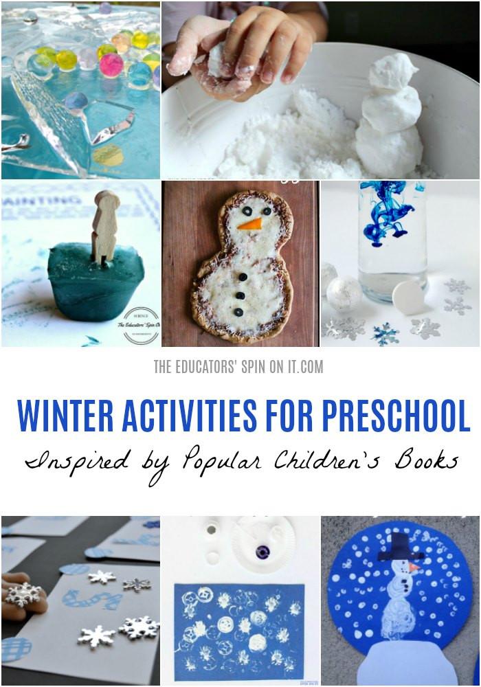 Winter Themed Activities For Preschoolers  18 Fun and Easy Snow Themed Activities for Your Preschooler