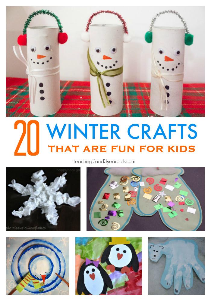 Winter Themed Activities For Preschoolers  20 Fun Preschool Winter Crafts